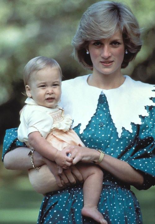 Princesa Diana Con Su Bebe