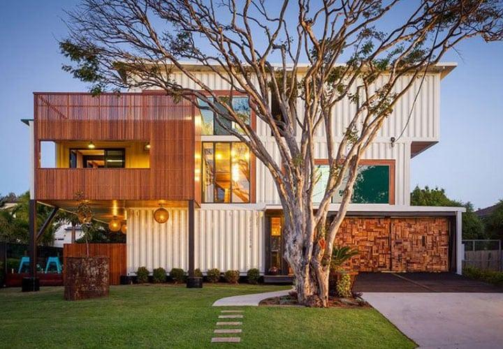 11 casas incre bles hechas con contenedores martha debayle - Casas hechas de contenedores ...