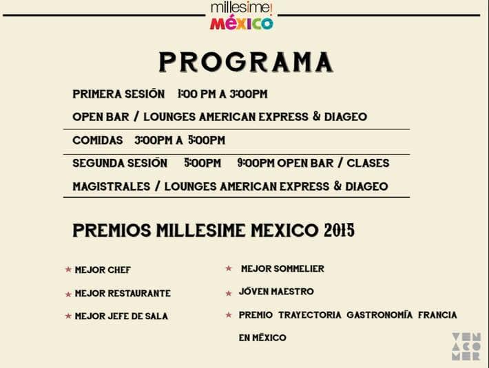 Programa Millesime 2015