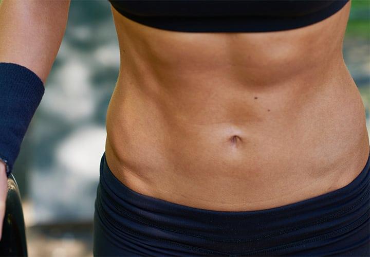 Como marco mi abdomen