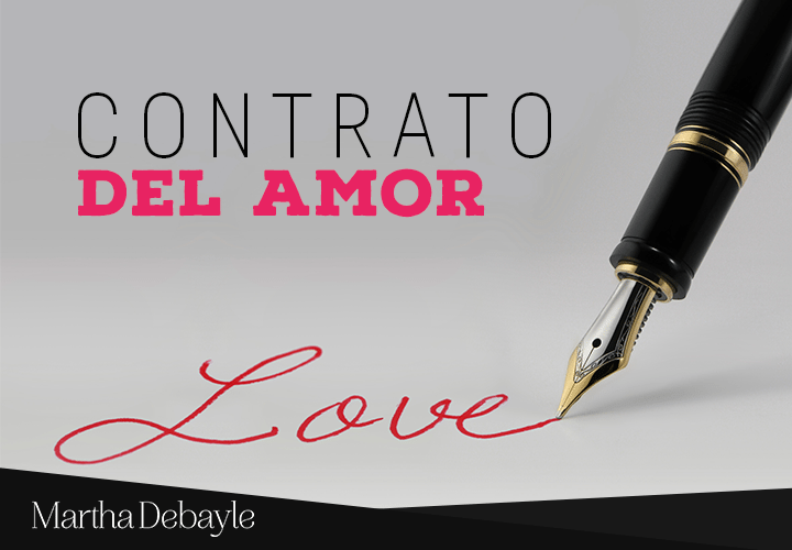 Contrato Del Amor Martha Debayle