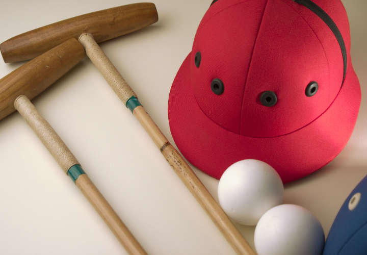 Polo Sports Equipment; sticks, helmets, balls