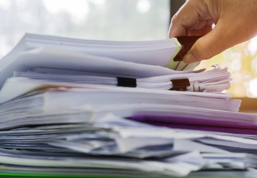 Cómo organizar documentos?